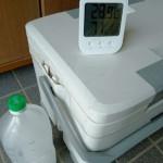 クーラーボックス考察①「ペットボトル氷」はどれだけの保冷力を作り出せるのか!?