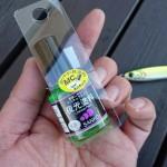 マニュキュアタイプでメタルジグを簡単にグロー化!「SANKO夜光塗料」