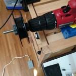 「電動ライン巻取り機」の自作方法② – 足踏みペダル(フットスイッチ)装着編 –